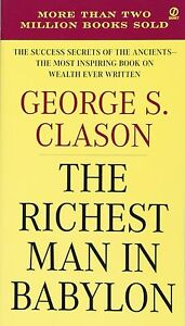 Details about The Richest Man in Babylon -The Success Secrets of the  Ancients Book English New