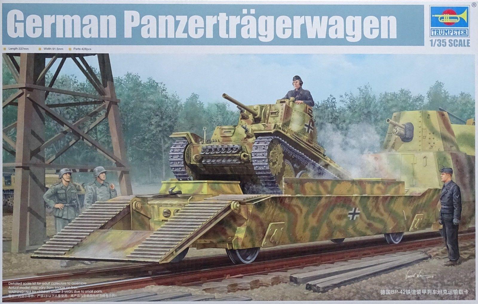 TRUMPETER GERMAN PANZERTRAGERWAGEN Scala 1 35 Cod,01508