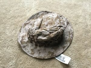 e6844fd4ac7 NEW NWU Type II Navy Seal AOR1 Digital desert Boonie Hat SUN COVER ...