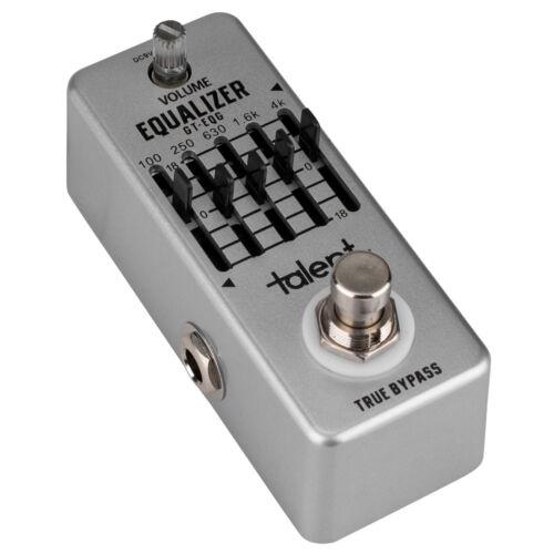 Talent GT-EQG EQUALIZER 5-Band EQ Guitar Mini FX Pedal Stomp Box