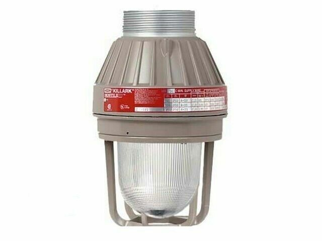 Hubbell Killark Emi20 Explosion Proof Incandescent Light Fixture