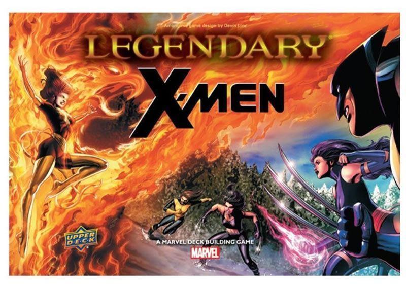 LEGENDARY  X-MEN EXPANSION CARD GAME
