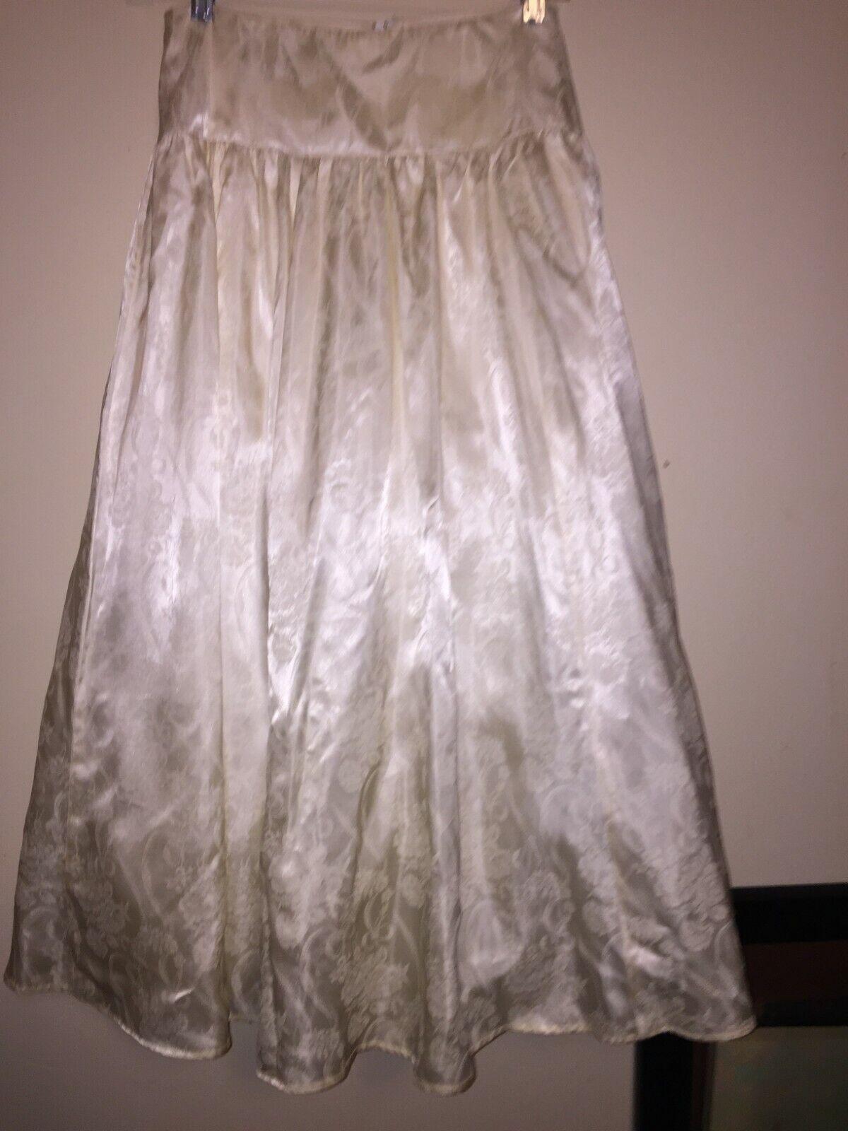 VINTAGE Jessica McClintock Crinoline Skirt 80s - image 2