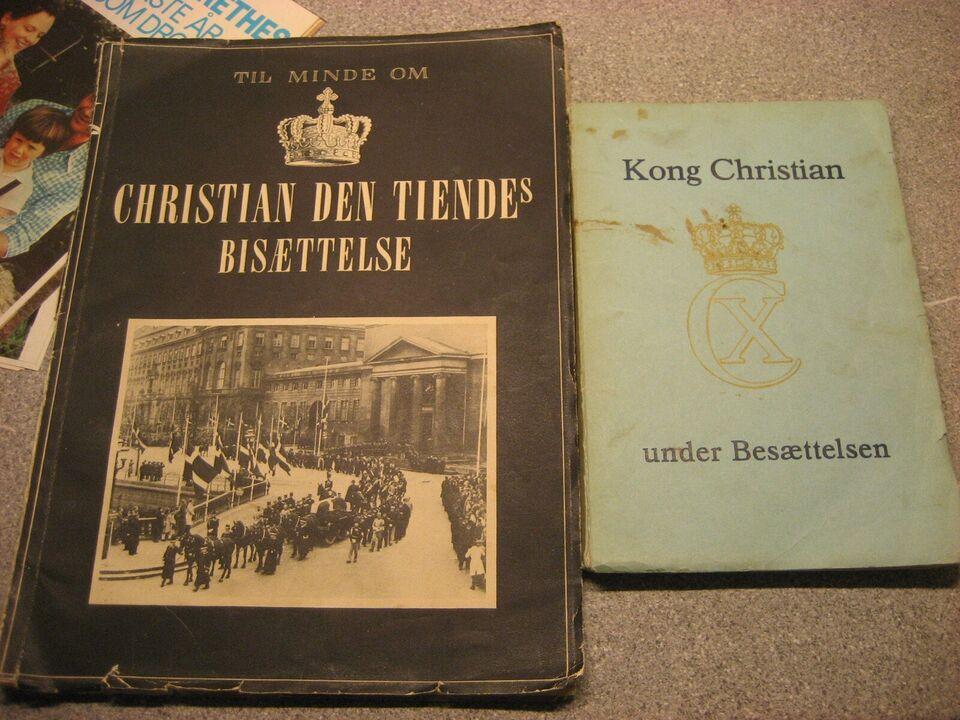 Bøger og blade, Christian den tiende Besættelse