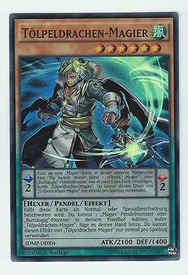 LED6-DE045 Künstlerkumpel Himmlischer Magier Yu-Gi-Oh Super Rare, 1. Auflage