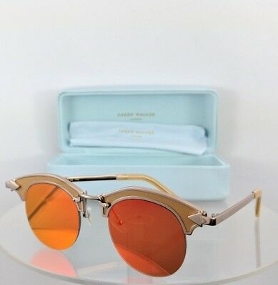 Brand New Authentic Karen Walker Sunglasses Buccaneer Gold Red Iridium 47Mm