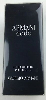 Armani Code By Giorgio Armani 1.7oz/50ml Eau De Toilette Spray Men's Cologne NIB