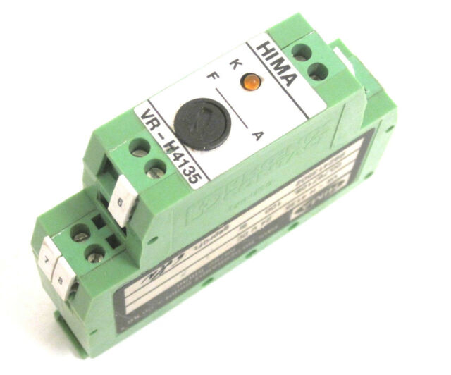 Hima Vr H4135 Phoenix Contact Safety Relay For Sale Online Ebay