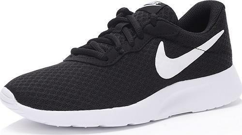 Men's NIKE TANJUN 812654 Black+White Running Athletic/Casual Sneakers Shoes New