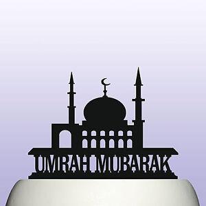 Acrylic umrah mubarak muslim religion celebration cake topper image is loading acrylic umrah mubarak muslim religion celebration cake topper solutioingenieria Choice Image