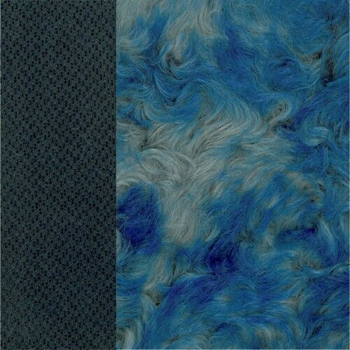 Schulte Batik-Mohair gewirbelt, dicht - Farbe blue ice - Rücken graubl - 25x47cm