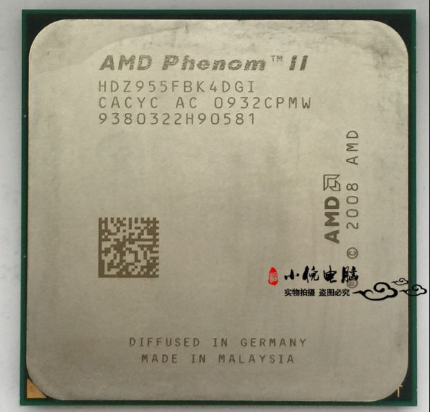 AMD Phenom II X4 955 3.2GHz HDZ955FBK4DGM Quad Core Processor