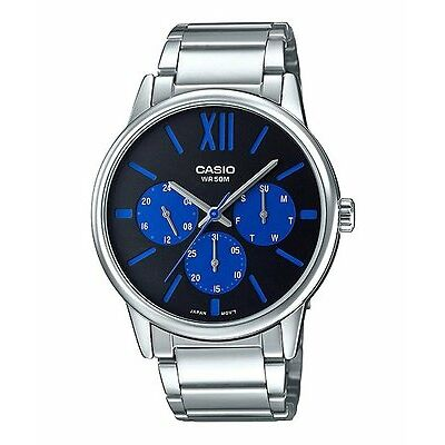 MTP-E312D-1B2 Casio Men Analog Watches Brand-New (No Box)