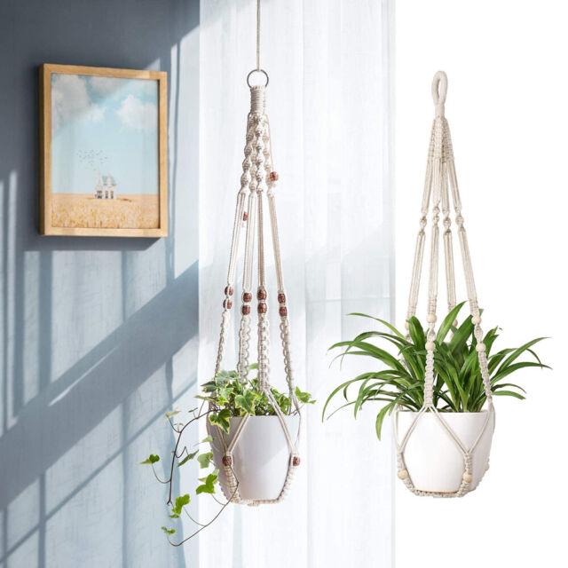 Macrame Plant Hanger Indoor Hanging