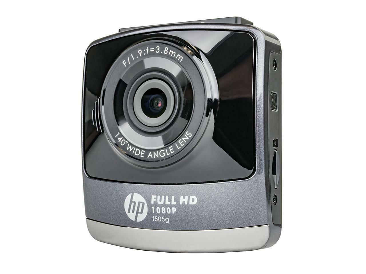 s-l1600 New - HP F505G Black/Grey 1080P Dash Cam