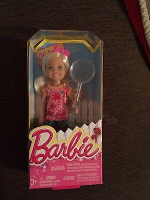 * Barbie Club Chelsea Girl Farfalla Net Bambola Nuovo In Scatola * 2013 * Vhtf-mostra Il Titolo Originale