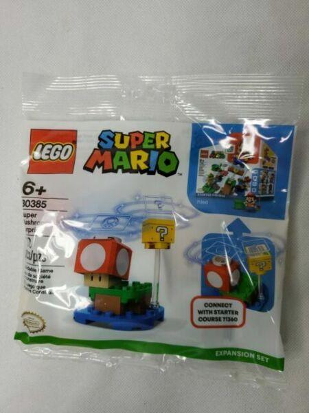 set of 3 JLB Super Mario Mushroom