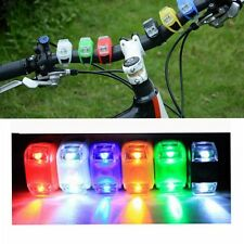 1x  Bicycle Bike Silicone Frog Light LED Front/Rear Safety Wheel Warning Lamp