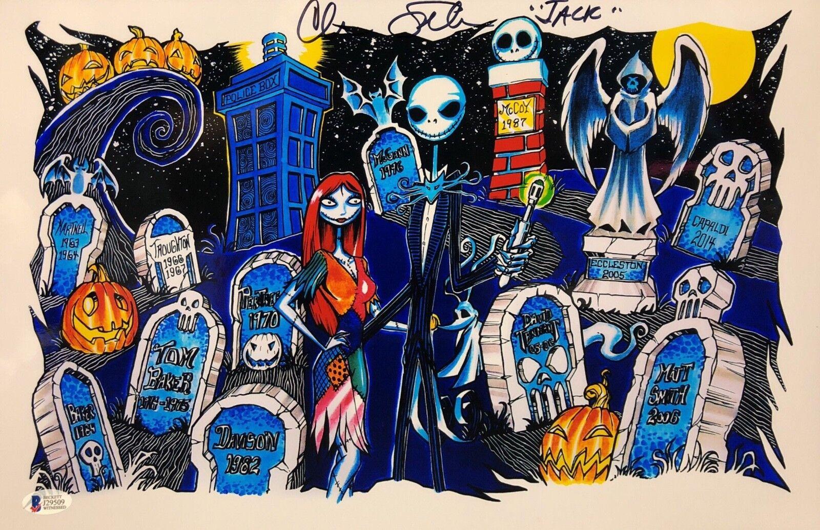 Chris Sarandon Signed Nightmare Before Christmas 11x17 Photo BAS J29509