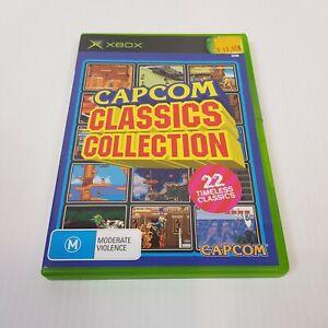 CAPCOM CLASSICS COLLECTION (Microsoft XBOX Original) PAL Video Game - Complete