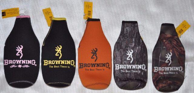 Flag Koozie Cooler Browning Buckmark Victory Bottle Coozie