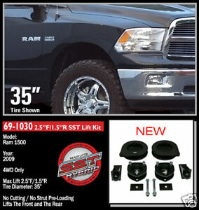 ReadyLift-SST-Lift-Kit-09-12-Dodge-Ram-1500-4WD-2-5-034-F-1-5-034-R-69-1030