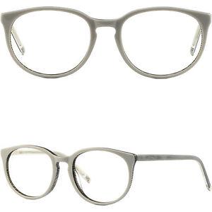 Weiß Damenbrille Federscharnier Kunststoff Brillengestell Cateye Fassung Gestell fS6wq