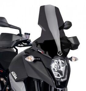 Racingscheibe Puig Kawasaki ZX-10R 16-18 dunkel get/önt