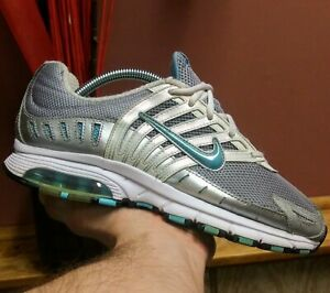 Nike-Air-Max-Tailwind-2008-Wmns-Size-9-Grey-Silver-Blue-345004-041-WHAT-A-STEAL