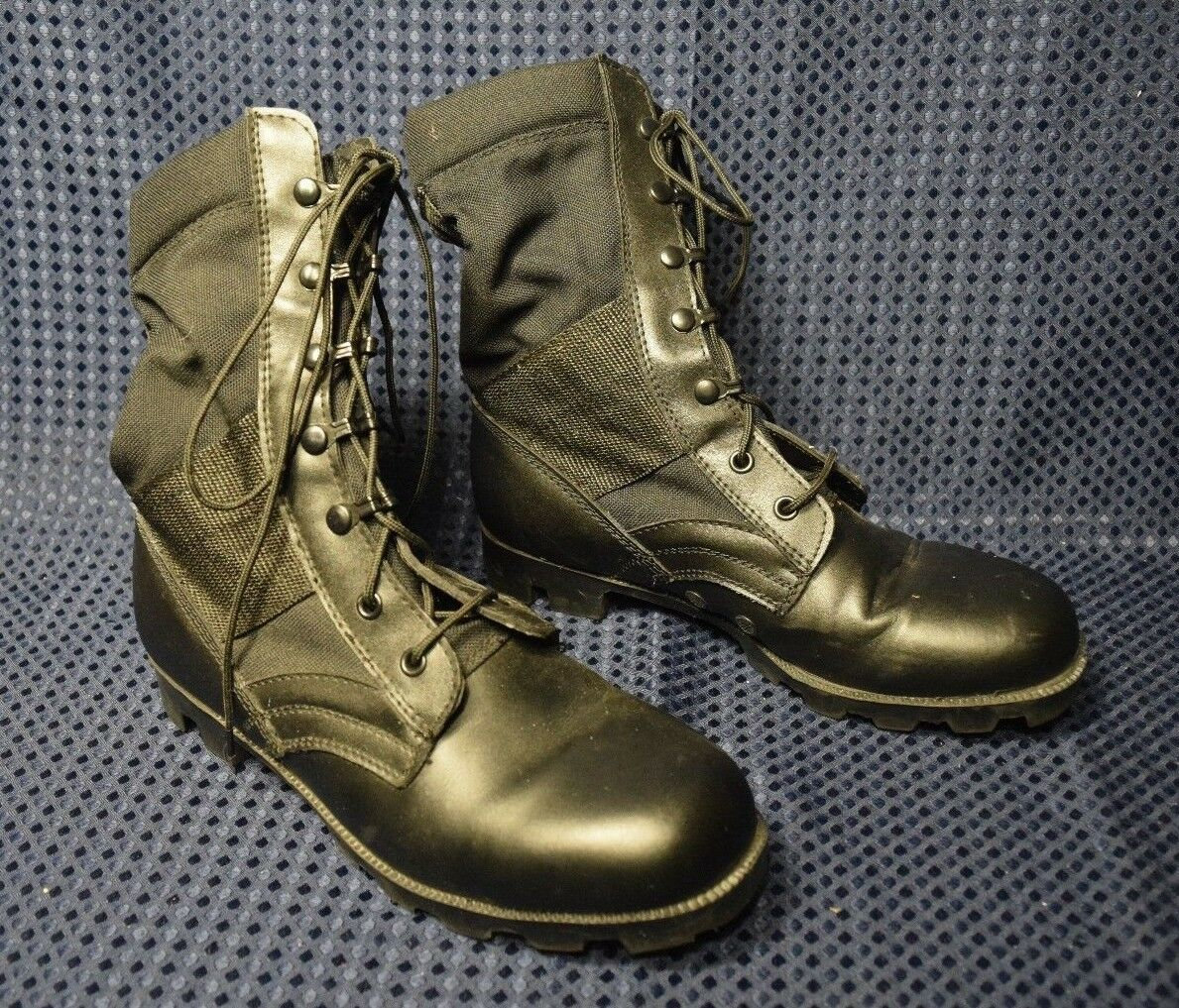 Leather Work Desert Combat Boots Army Tactical Comfort Outdoor  Men's Sz 7R