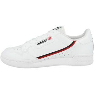 Adidas Continental 80 J Schuhe Originals Sneaker Freizeit Turnschuh white F99787