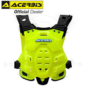 ACERBIS-PROFILE-GIALLO-2-PETTORINA-ADULTO-160-185cm-MOTO-CROSS-ENDURO-OFFROAD