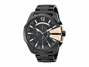 BRAND-NEW-DIESEL-MEGA-CHIEF-CHRONOGRAPH-ROSE-GOLD-MEN-WATCH-DZ4309