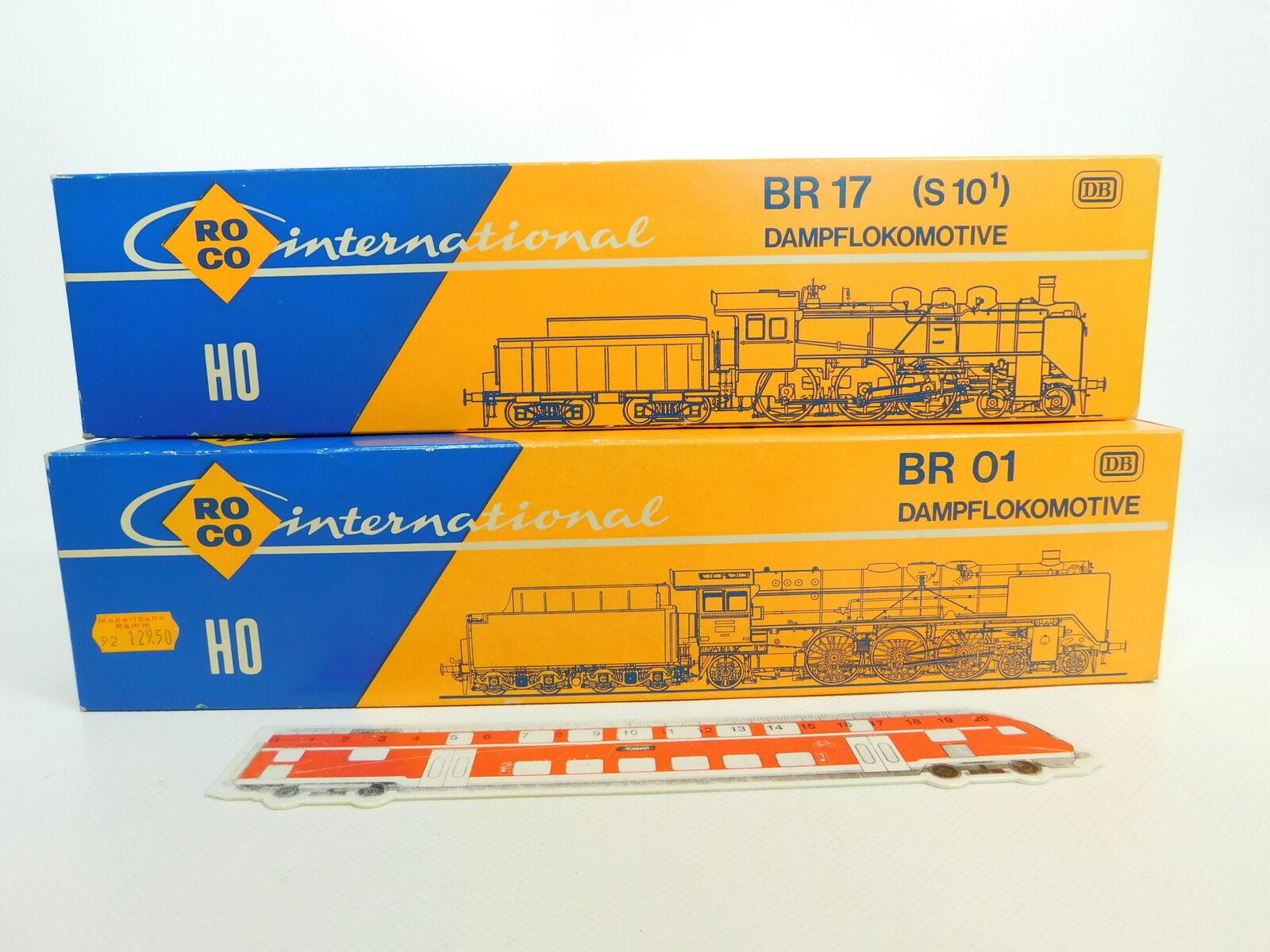 BQ77-0,5x Roco H0 Leerkarton für Dampflokomotive DB  04115 A + 04119 A