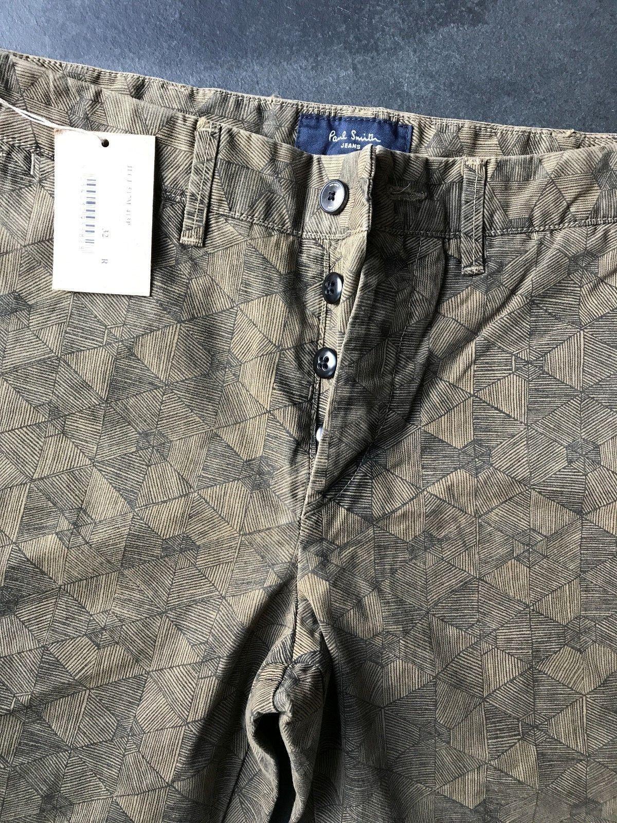 Paul Smith Con motivi Pantaloni Pantaloni Pantaloni Slim Fit 32 R 8fa2d9