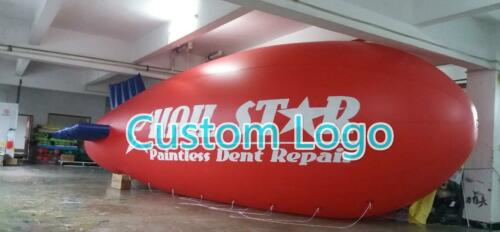 6M 20ft //7M 22ft Giant Inflatable Advertising Blimp //Flying Helium Balloon Y
