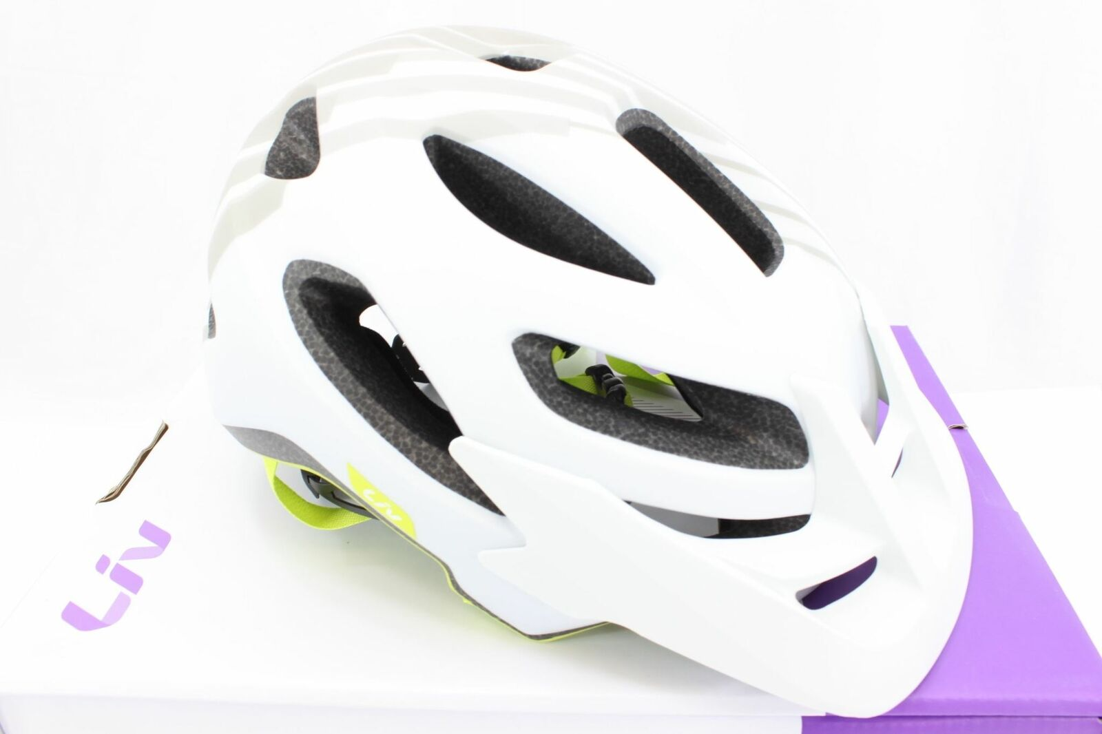 Giant Liv Cycling Coveta Bike Helmet Tonal grigio Small NIB