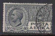 ITALIA:1926 60 GRIGIO Airmail SG 198 BELLE USATO