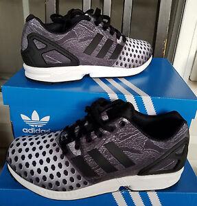 promo code bedc8 e5947 La foto se está cargando Adidas-Originals-Pharrell-ZX-Flux-Decon-Kanye-Tenis -