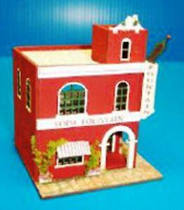 Dollhouse-Miniature-Soda-Fountain-Kit-1-144-Scale