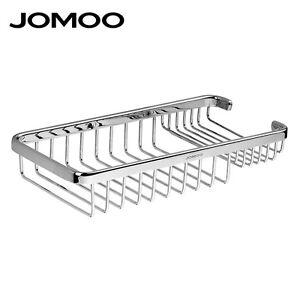 JOMOO Shower Caddy Corner Rack Organizer Bathroom Wire Basket Storage Shelves