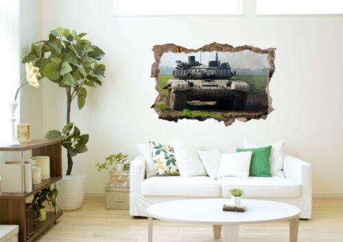 Panzer Armee Militär Wandtattoo Wandsticker Wandaufkleber D0557