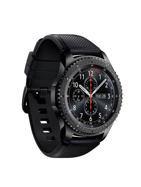 Samsung Galaxy Gear S3 Frontier Nero Black Smartwatch SM-R760 Wi-Fi Bluetooth