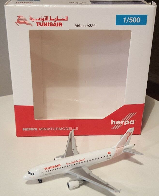 saludable HERPA WINGS 1 500 Tnisair Airbus Airbus Airbus A320. Reg. TS-IMV. 527828  centro comercial de moda
