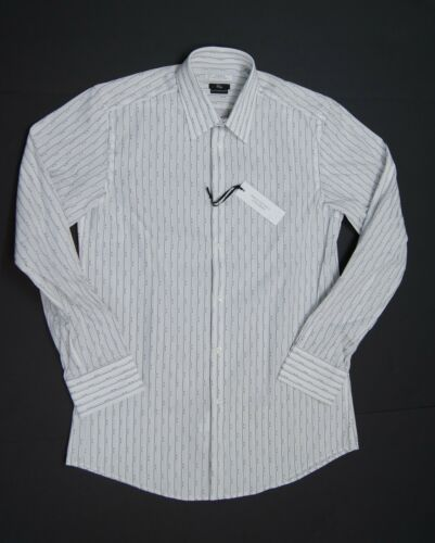 VERSACE COLLECTION Men City Fit Striped Dress Shirts NEW NWT $295
