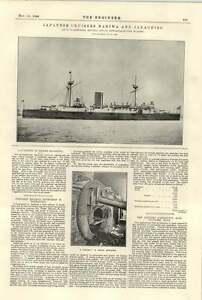 1894-Japanese-Cruisers-Naniwa-Jakachibo-Armstrong-Mitchell-Boiler-Repairing