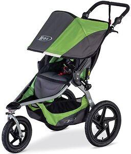 BOB Revolution Flex Jogging Stroller Swivel Front Wheel Baby Jogger 2016 Meadow