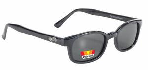 Original X-KD's Biker Sonnebrille dunkel getönte Gläser POLARISIERT Jax Teller