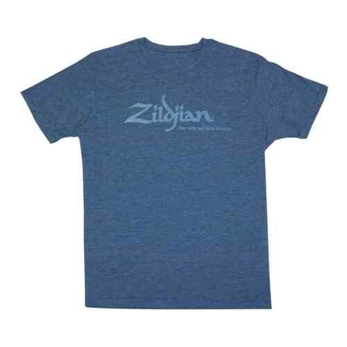 Large Zildjian Heathered Blue T-Shirt