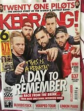 Kerrang 1632 13th August 2016 A Day To Remember cov & Avenged Sevenfold posters